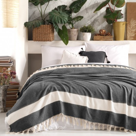 Jetée de lit - Plaid - HERIDO - 200 x 240cm