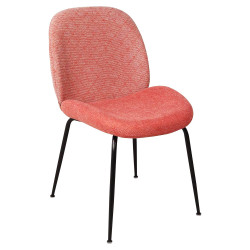 Chaise GAB Coral & Black - Limited Edition