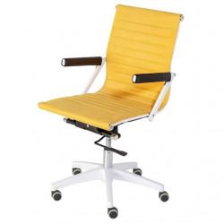 Fauteuil de bureau ALIAS - White & Yellow
