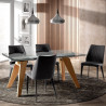 Table à manger EXTENSIA - 160-240cm - Chêne