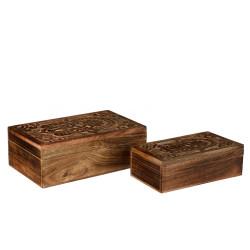 Duo de boîtes de rangement - KHAMSA