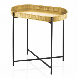 Table d'appoint VETER - Black & Gold