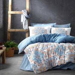 Parure de lit en Coton renforcé AZULEJO - 2 places - 240 x 260cm