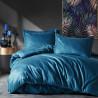 Parure de lit satin de coton STRIPY Blue - 2 places - 240x260cm