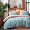 Parure de lit en Coton renforcé OLIA - 2 places - 240 x 260cm
