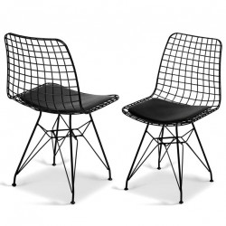 Chaise EDGY - Black