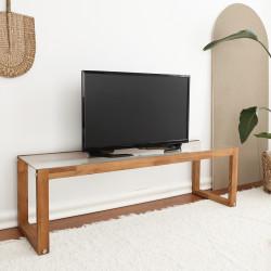 Table basse rectangulaire - PURIST chêne MIEL