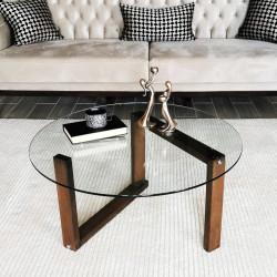 Table basse ronde - LYNE Accacia