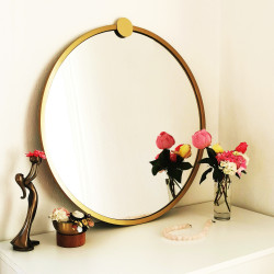 Miroir SOKO 60 cm - Gold