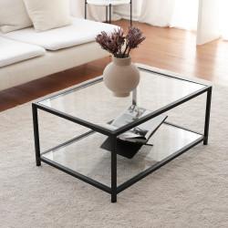 Table basse rectangulaire - PURIST chêne NATUREL