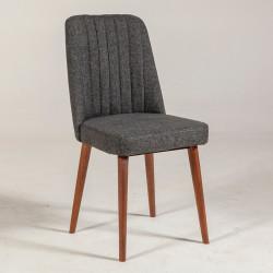 Chaise MINTY Noyer - 4 Coloris au choix