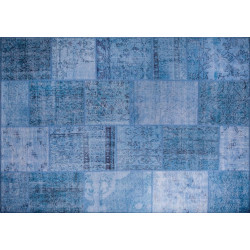 Tapis BAZAR - Bleu - 230 x 150 cm