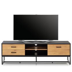 Meuble télé ASHTON - Chêne