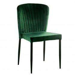 Chaise ALMO - Green velvet