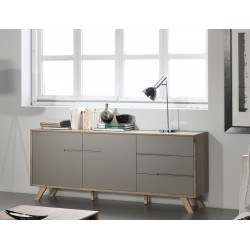 BUFFET BAS OLIE - TAUPE