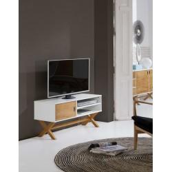 Meuble TV LIDIE Blanc