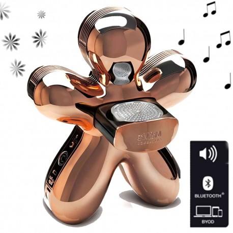 Diffuseur GEORGE Bluetooth - CUIVRE METALLISE - Mr&Mrs Fragrances