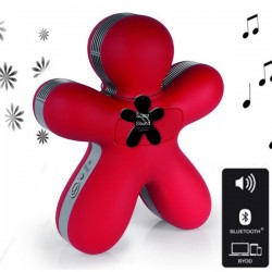 Diffuseur GEORGE Bluetooth soft touch - RED - Mr&Mrs Fragrances
