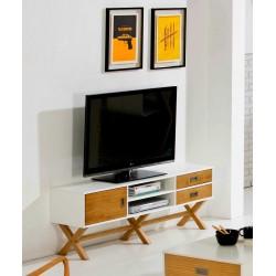 Meuble TV LIDIE xL Blanc