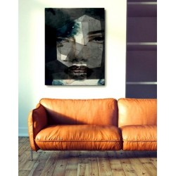 """Toile """"FACE"""" by KUNST"""