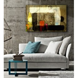 """Toile """"LIFE"""" by KUNST"""