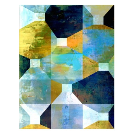 "Toile ""GEOMETRICS II "" by KUNST"