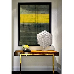 """Toile """"YELLOW"""" L by KUNST"""