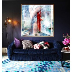 """Toile """"STANDING IN THE UNIVERSE"""" L by KUNST"""