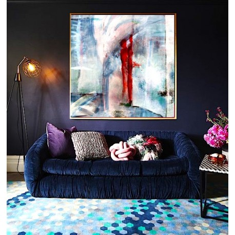 """Toile """"STANDING IN THE UNIVERSE"""" by KUNST"""