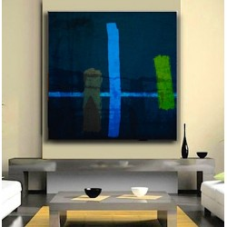 """Toile """"ABSTRACT"""" by KUNST"""