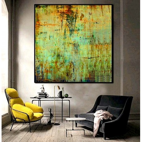 """Toile """"GREEN FOREST II"""" by KUNST"""