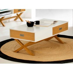 Table basse LIDIE Blanc