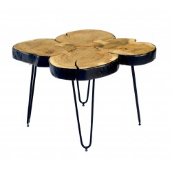 Table basse WOODY 4T - Black