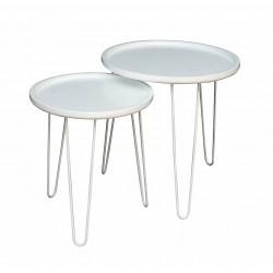 Duo de tables LIVE White