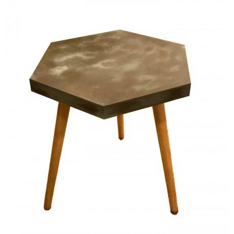 Table GINGER Hexagonale