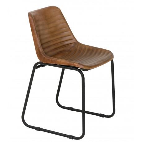Chaise SANTIAGO cuir