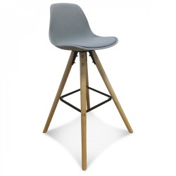 TABOURET NORTHISSIME - GRIS