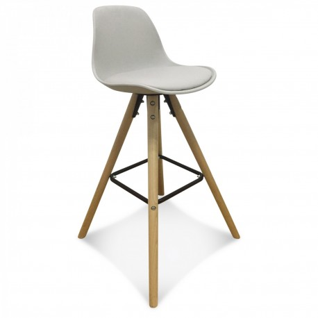 TABOURET NORTHISSIME - TAUPE