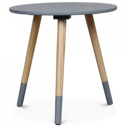 Table d'appoint AZA Grise