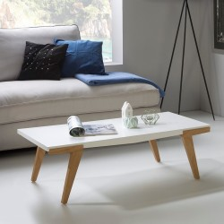 CANDY - Table basse Blanc