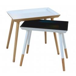 Duo de tables Plateau PUERTO