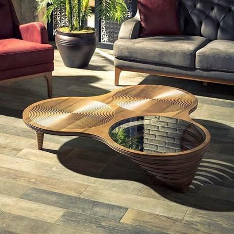 Table Basse MILAN - Noyer