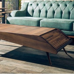 Table Basse BARCELONA - Noyer