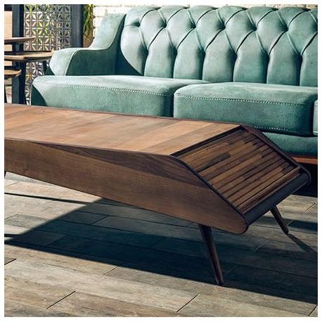 Table Basse BARCELONA - Noyer