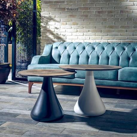 Duo de tables AMSTERDAM - Noyer