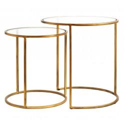 Duo de tables SUAVE GOLD