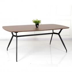 Table à manger SINTRA - Finition Noyer - xL