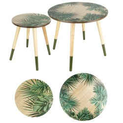 Duo de tables AZA - Jungle & wood