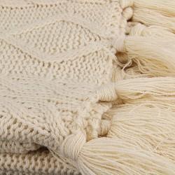 Plaid tricot MAM - Beige écru