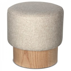 Tabouret YOAN Tweed Edition - Naturel